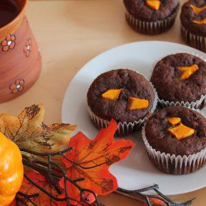 CHUTĚ PODZIMU: čokoládovo-dýňové muffiny