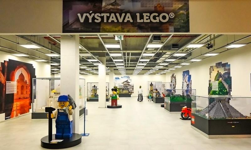 Expozice LEGO v novém